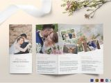 Free Tri Fold Wedding Brochure Templates 26 Wedding Brochure Templates Free Sample Example