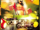 Free Video Game Flyer Template 13 Cool Video Games Flyer Templates