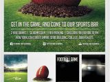 Free Video Game Flyer Template Football Game Flyer Template by Saltshaker911 On Deviantart