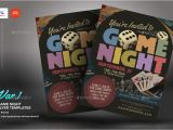 Free Video Game Flyer Template Game Night Flyer Templates by Kinzi21 Graphicriver