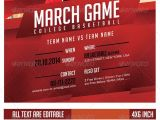Free Video Game Flyer Template March Game College Basketball Flyer Breezi Pinterest