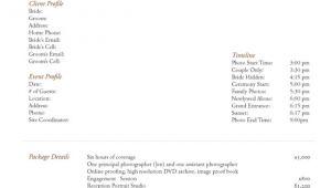 Free Wedding Photography Contract Template Uk 5 Free Wedding Photography Contract Templates