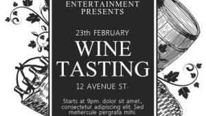 Free Wine Tasting Flyer Template Wine Tasting Flyer Template Postermywall