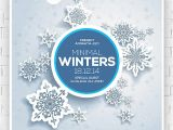 Free Winter Holiday Flyer Templates Festive Collection Of Christmas Flyer Templates Print
