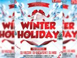 Free Winter Holiday Flyer Templates Winter Holiday Flyer Seasonal A5 Template