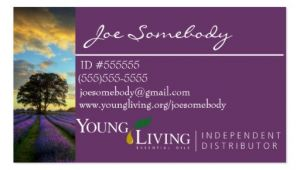 Free Young Living Business Card Templates Young Living Business Card Templates Budget Template Free