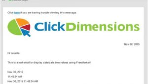 Freemarker Email Template Example Use Freemarker to Place A Timestamp In Emails