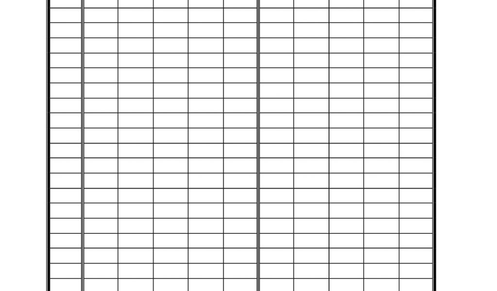 Frequency Table Template 7 Best Images Of Behavior Tally ...  Blank Frequency Table
