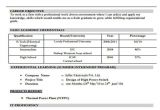 Fresher Electrical Engineer Resume Pdf 40 Fresher Resume Examples