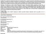 Fresher Mechanical Engineer Resume Doc Latest Resume format Mechanical Engineer Resume for Fresher