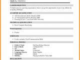 Fresher Mechanical Engineer Resume Doc Sample Resume format for Mechanical Engineering Freshers