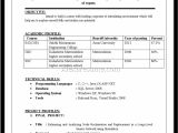 Fresher Resume Sample In Usa Computer Science Engineer Resume Fresher Resume Example