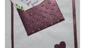 Friendship Day Greeting Card Handmade Paper town Handmade Friendship Day Envelope Greeting Card