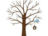 Friendship Tree Template Fingerabdruck Baum Vorlage andere Motive Kostenlos Zum