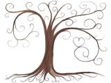 Friendship Tree Template Thumbprint Tree Guestbook and Trees On Pinterest