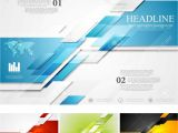 Full Hd Visiting Card Background Abstract Bright Corporate Tech Background Four Colors