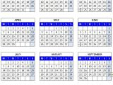 Full Year Calendar Template 2014 14 Full 2014 Year Calendar Template Images Printable