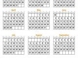 Full Year Calendar Template 2014 Free Printable Calendar 2014 Full Year Calendario 2014
