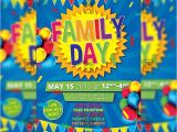 Fun Day Flyer Template Free Family Day Premium Flyer Template Instagram Size Flyer