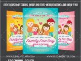 Fun Day Flyer Template Free Family Fun Day Flyer Psd Template by Elegantflyer