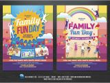 Fun Day Flyer Template Free Family Fun Day Flyers Flyer Templates Creative Market