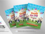 Fun Day Flyer Template Free Family Fun Day Flyers Flyer Templates On Creative Market