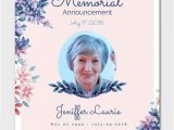 Funeral Announcement Email Template 15 Funeral Invitation Templates Free Sample Example