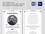 Funeral Announcement Email Template Death Announcement 5 Word Psd format Download Free