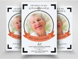 Funeral Flyers Templates Free 10 Funeral Flyer Templates Printable Psd Ai Vector