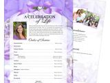 Funeral Flyers Templates Free Elegant and Lovely Funeral Flyers Templates Floral