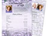 Funeral Flyers Templates Free Funeral Memorial Flyers Templates Sweet Lilac One Page