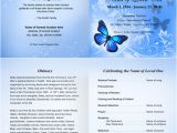 Funeral Program Templates Free Downloads 7 Best Images Of Printable Funeral Program Templates