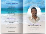 Funeral Program Templates Free Downloads Free Editable Funeral Program Template Template Business