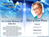 Funeral Program Templates Free Downloads Free Funeral Program Template Word Excel formats