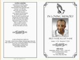 Funeral Program Templates Free Downloads Memorial Service Program Template Microsoft Word