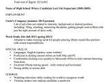 Funny Cv Template A Resume Template for Every Unemployed Recent College Grad