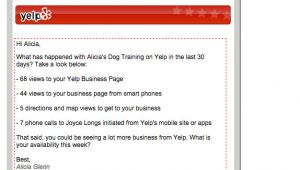 Fyi Email Template B2b Email Marketing Tips From Tripling Yelp S Response Rate