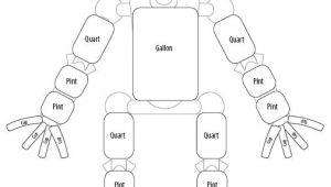 Gallon Man Template Patties Classroom Gallon Guy Measurement Man