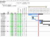 Gannt Chart Template Excel Free Gantt Chart Template for Excel