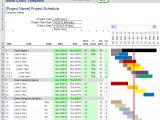 Gannt Chart Template Excel Gantt Chart Template Pro for Excel