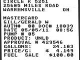 Gas Receipt Template Expressexpense Custom Receipt Maker Online Receipt