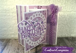 Gemini Create A Card Invitation Dies Image Result for Gemini Sentiment Die Happy Birthday Card