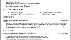 General Basic Resume General Resume Sample Career Center Csuf