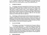 General Manager Contract Template General Manager Contract Template