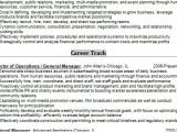 General Resume format Word General Manager Resume Creative format In Word Free Download