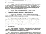 General Sales Contract Template 11 Sales Agency Agreement Templates Word Pdf