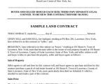 General Sales Contract Template Sample Land Sales Contract 6 Examples In Word Pdf