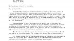 Generalized Cover Letter 10 General Cover Letter Sample Samplebusinessresume Com