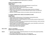 Generator Service Engineer Resume Design Engineering Intern Resume Samples Velvet Jobs