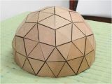 Geodesic Dome Template How to Make A Geodesic Dome 39 S Scale Model with Cardboard